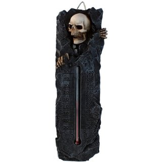 スケルトン温度計 Skeleton Crypt Thermometer