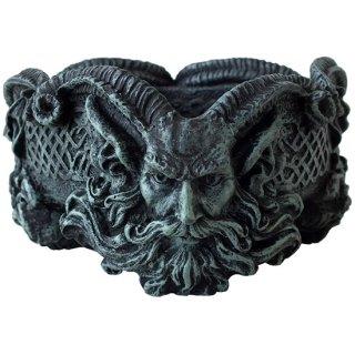 ギリシャ神話 牧羊神パン アシュトレイ(灰皿) Pan Ashtray Demon Evil Devil