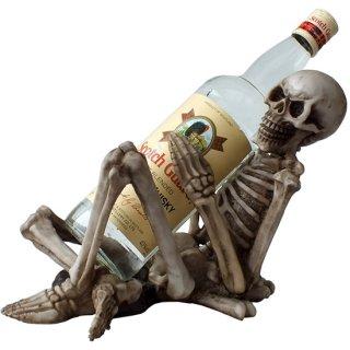 スケルトンワインボトルホルダー Skeleton Wine Bottle Holder