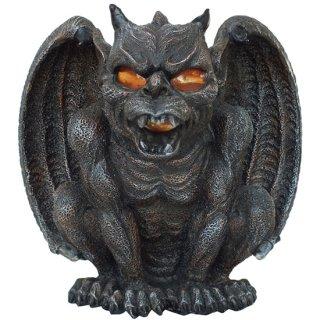 ヴァンパイア ウィングガーゴイル キャンドルホルダー Vampire Winged Guardian Gargoyle Candle Holder