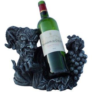 ギリシャ神話 牧羊神パン ワインボトルホルダー Pan Wine Bottle Holder Demon Evil Devil