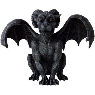 ラムホーンド ガーゴイル ゴシックスタチュー(像) Ram Horned Gargoyle Gothic Statue