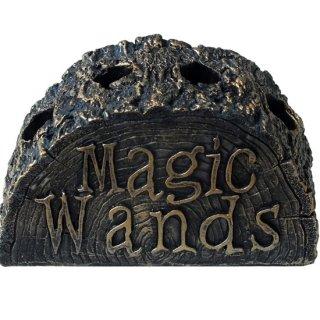 マジックワンドホルダースタンド 切り株オブジェ Magic Wand Holder Stand