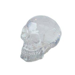 ミニクリスタル スカルヘッド クリア Translucent Clear Skull Mini