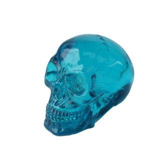 ミニクリスタル スカルヘッド クリアブルー Translucent Clear Blue Skull Mini