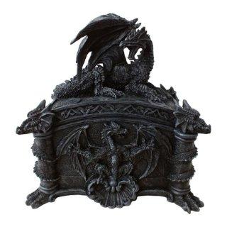ゴシックドラゴン 装飾小物入れボックス Gothic Dragon Trinket Box