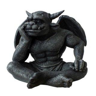 ドリーマーガーゴイル像 ゴシックフィギュア The Dreamer Gargoyle Statue Gothic Figurine