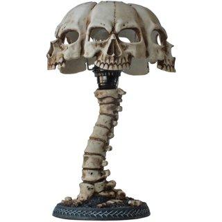 【同梱不可】スカルテーブルランプ スカルフェイスシェード Skull Table Lamp Gothic Skull Face Shade