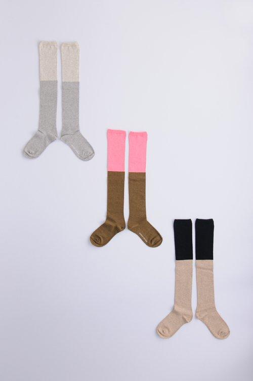 cotton 〜2 color〜 high socks