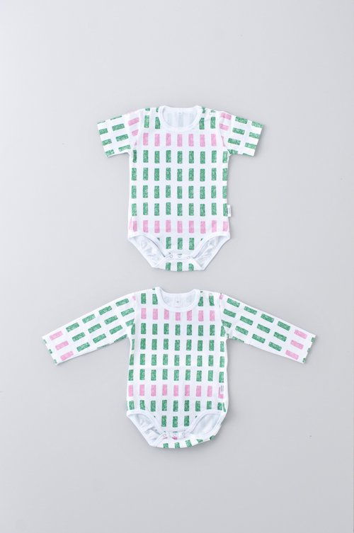 block baby rompers「80」size