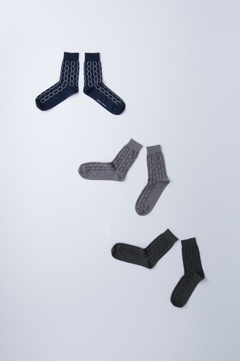 cotton ~loop~ middle socks