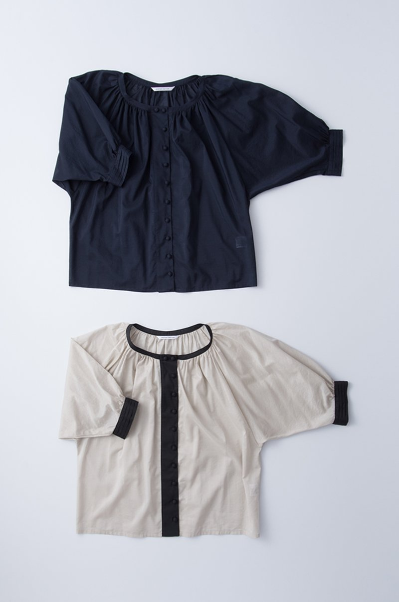 chambray loan gather smock