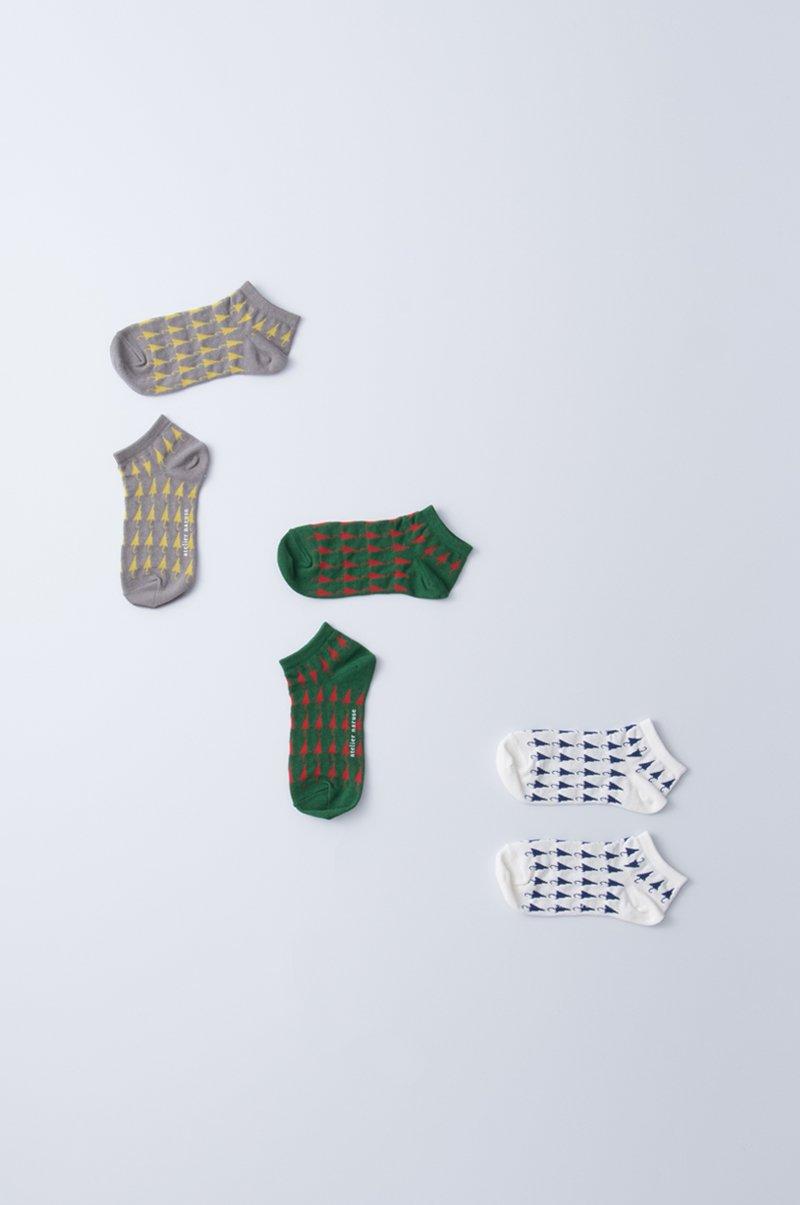 cotton linen ~umbrella~ short socks