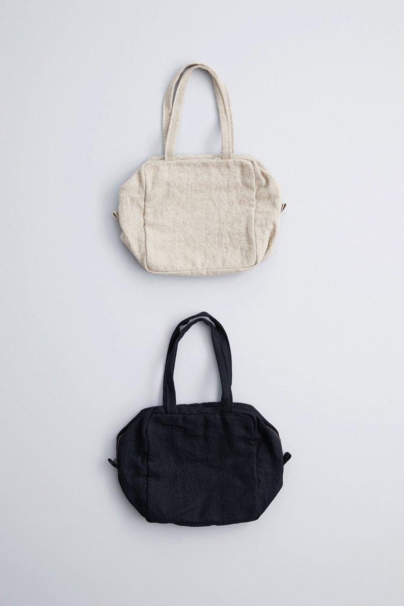 linen canvas square bag