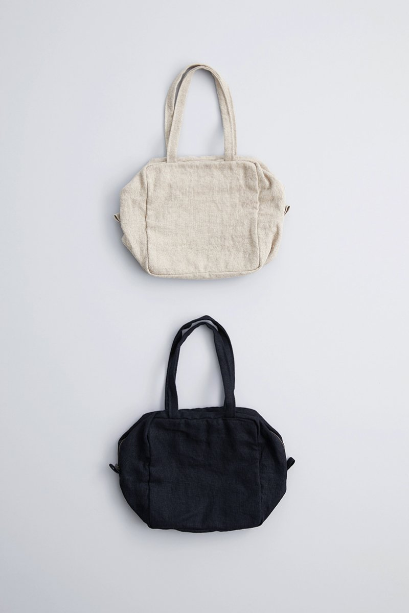 linen canvas square bag