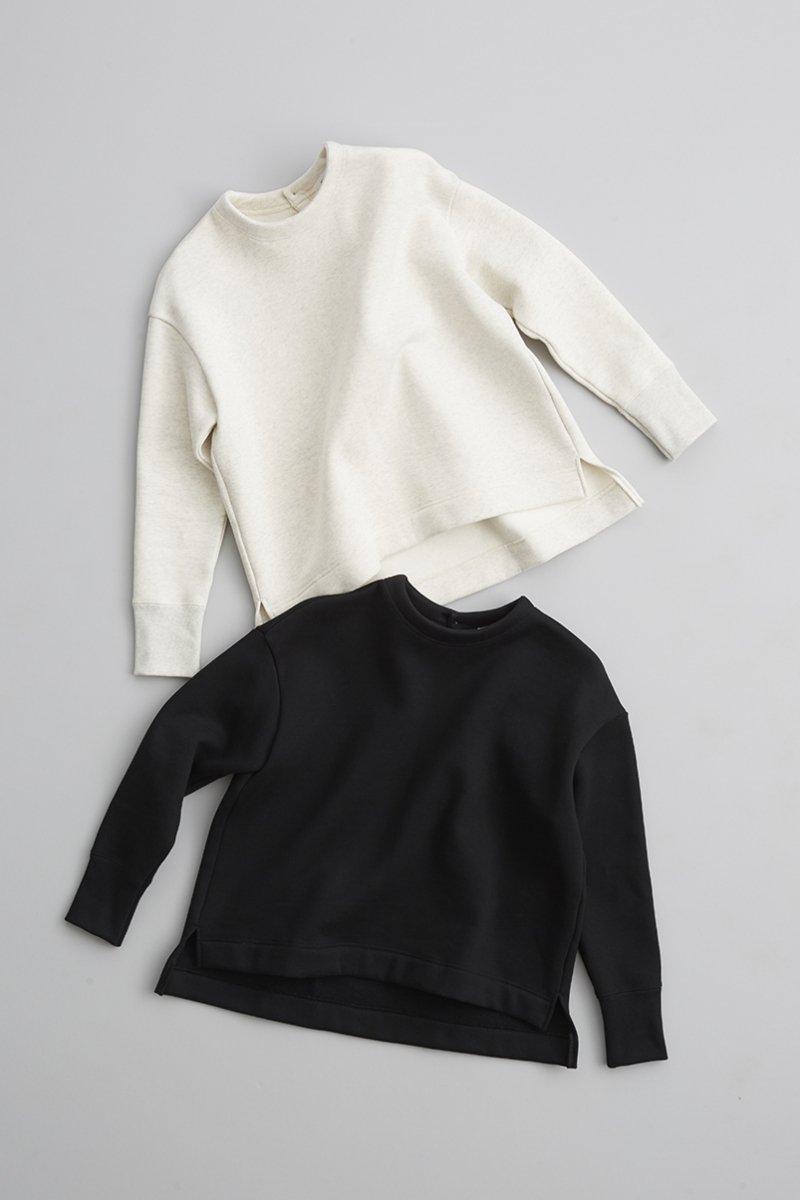 cotton fleece lining pullover