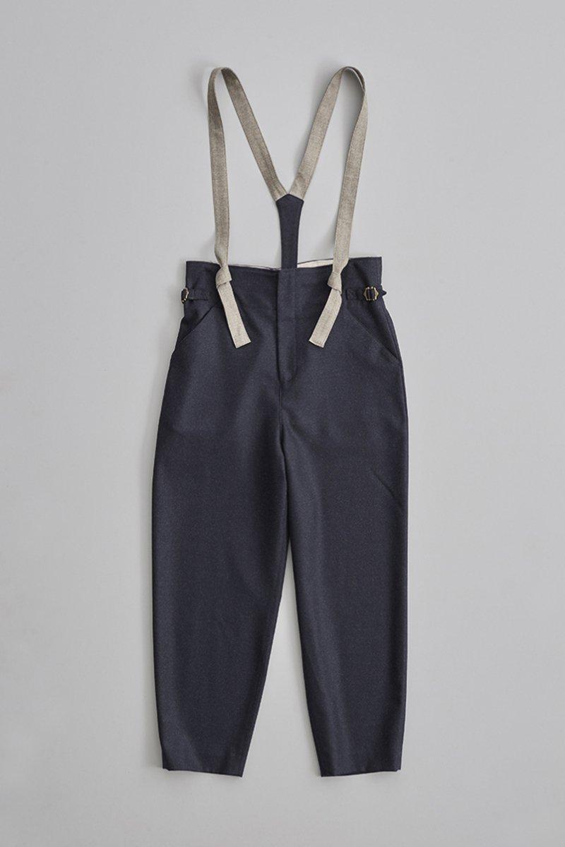wool ~color scheme~ suspender pants