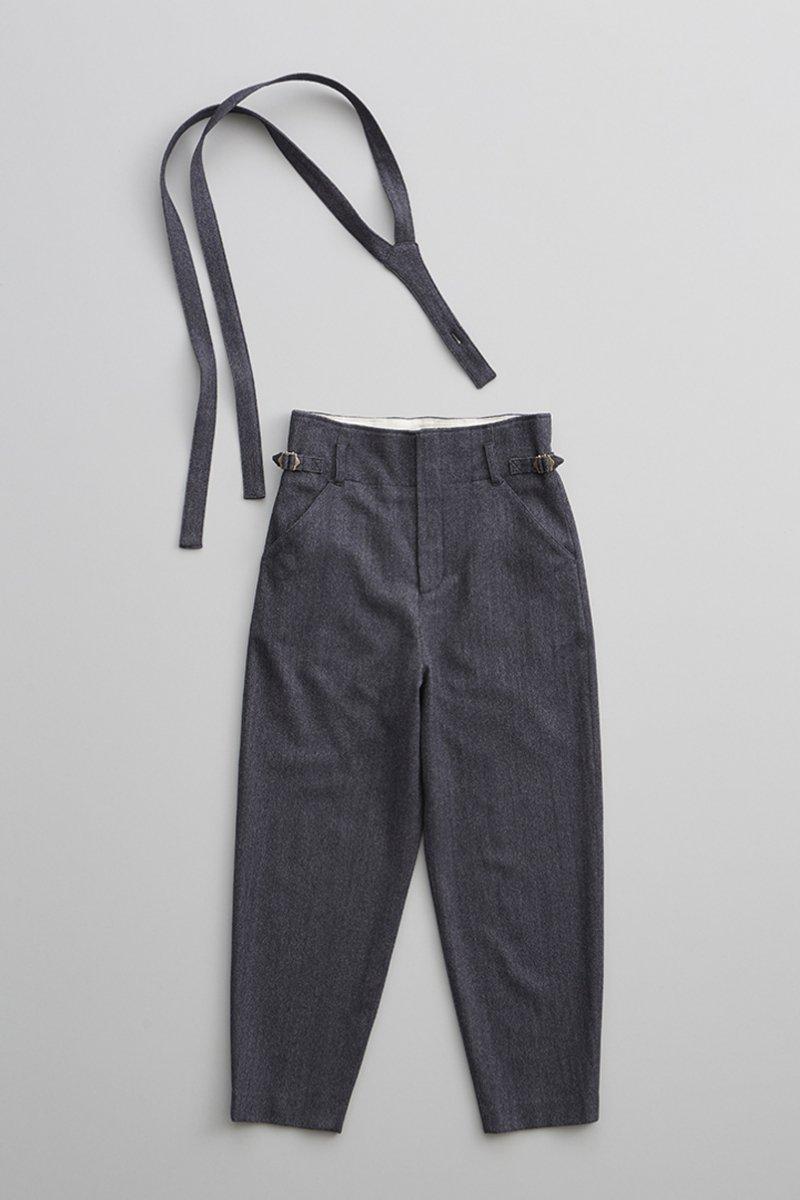 wool ~herring born~ suspender pants