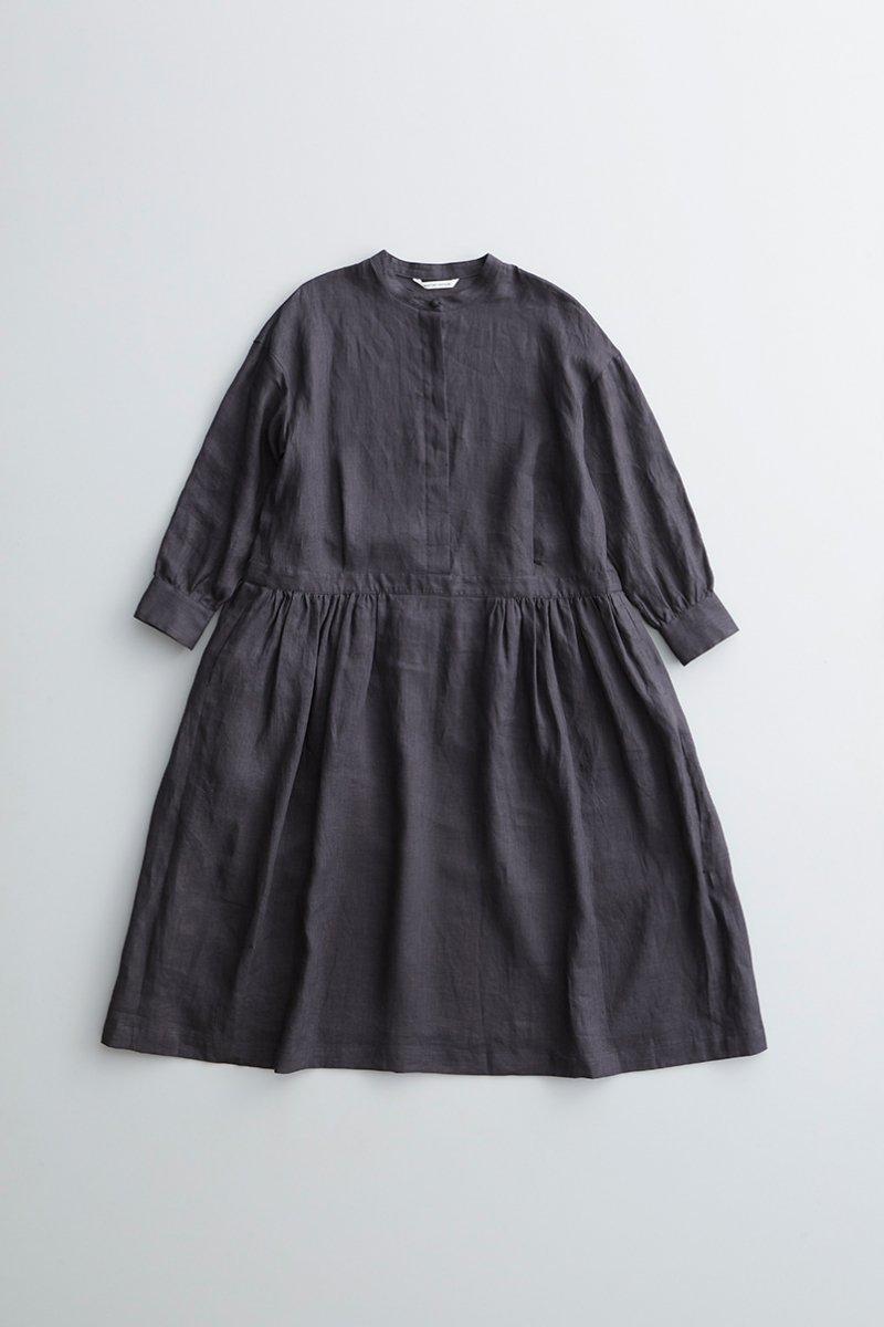 linen shirt one piece / sumikuro