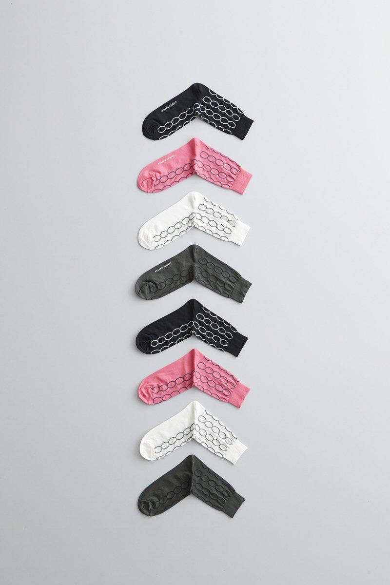 cotton ~loop~ middle socks