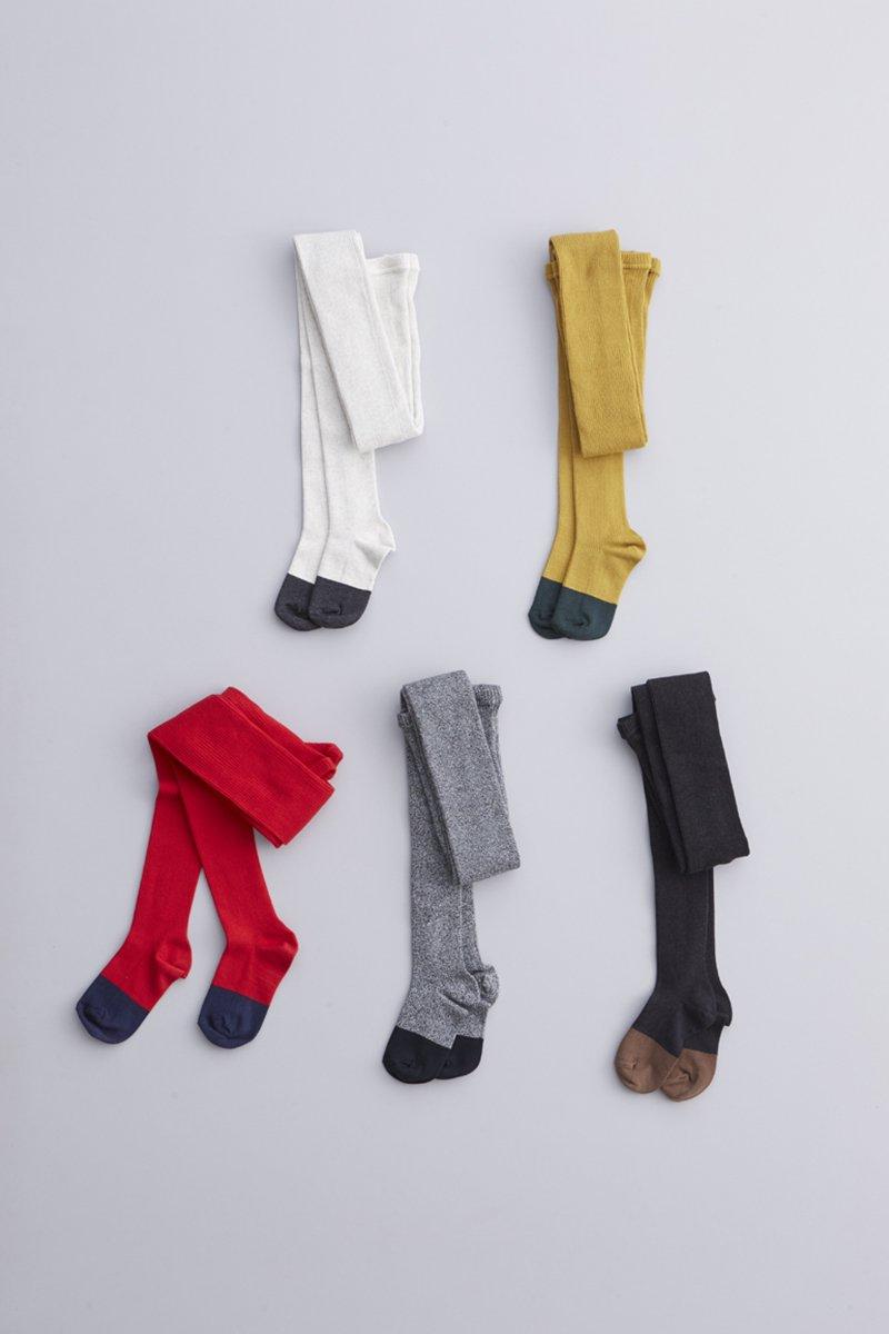 cotton ~yuru-yuru~ rib tights