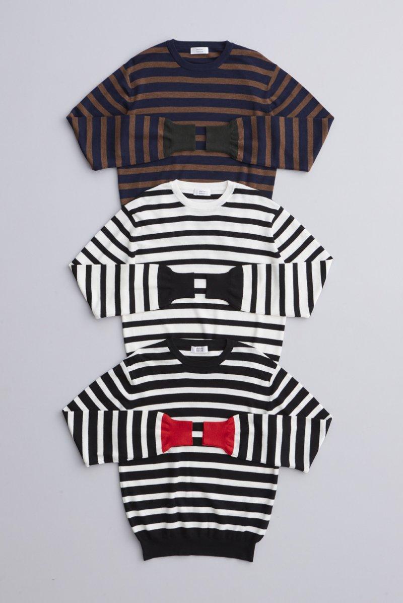 wool border knit