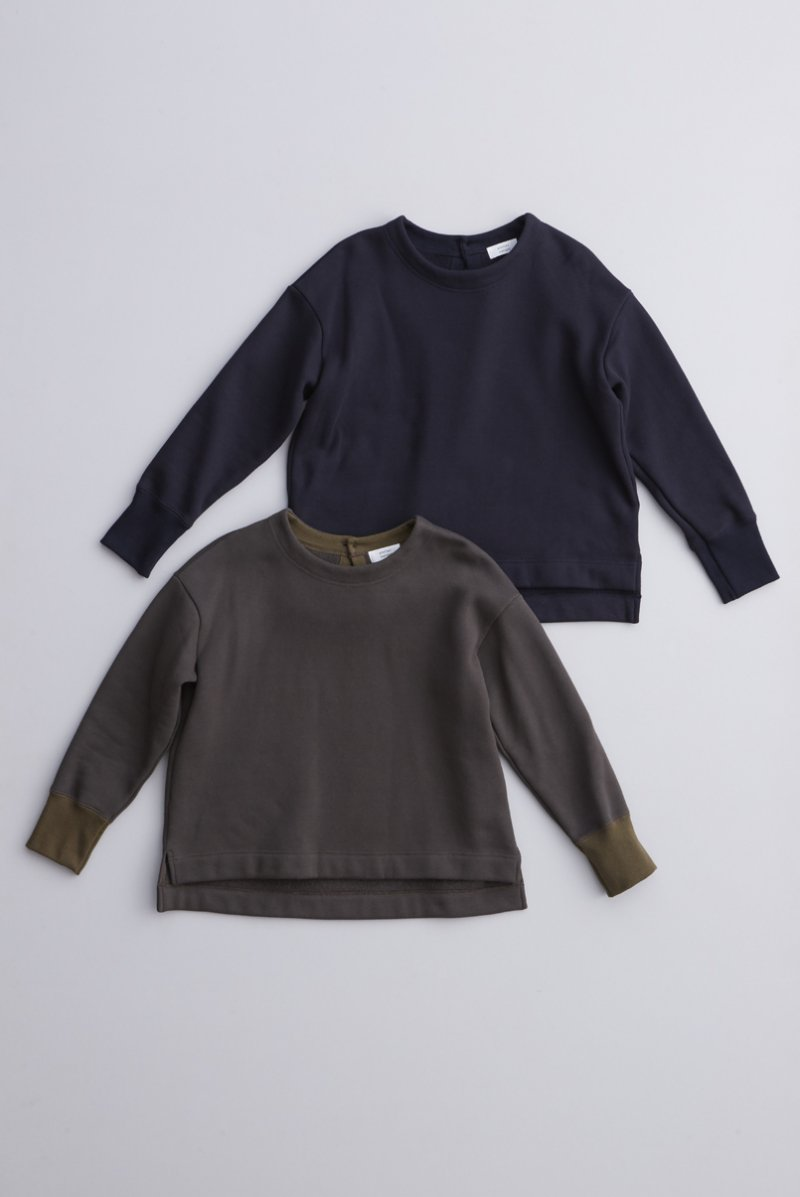 cotton fleece lining pullover