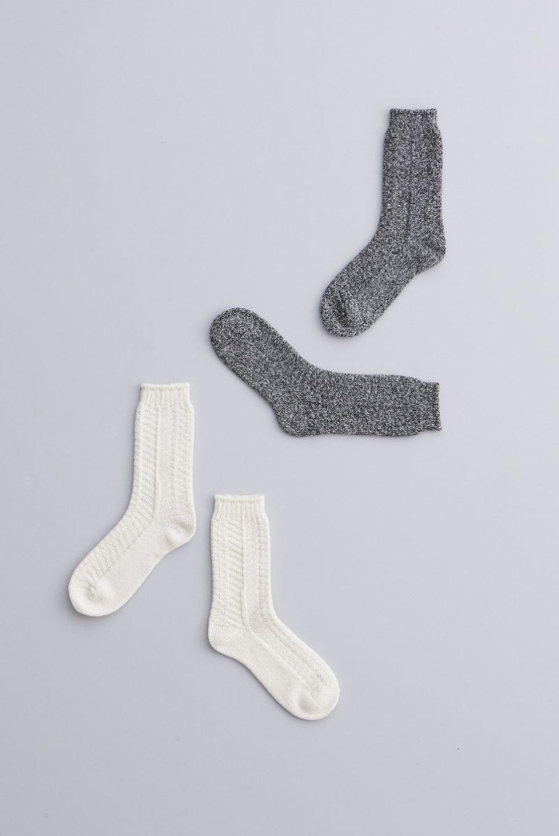 wool ~alan~ middle socks