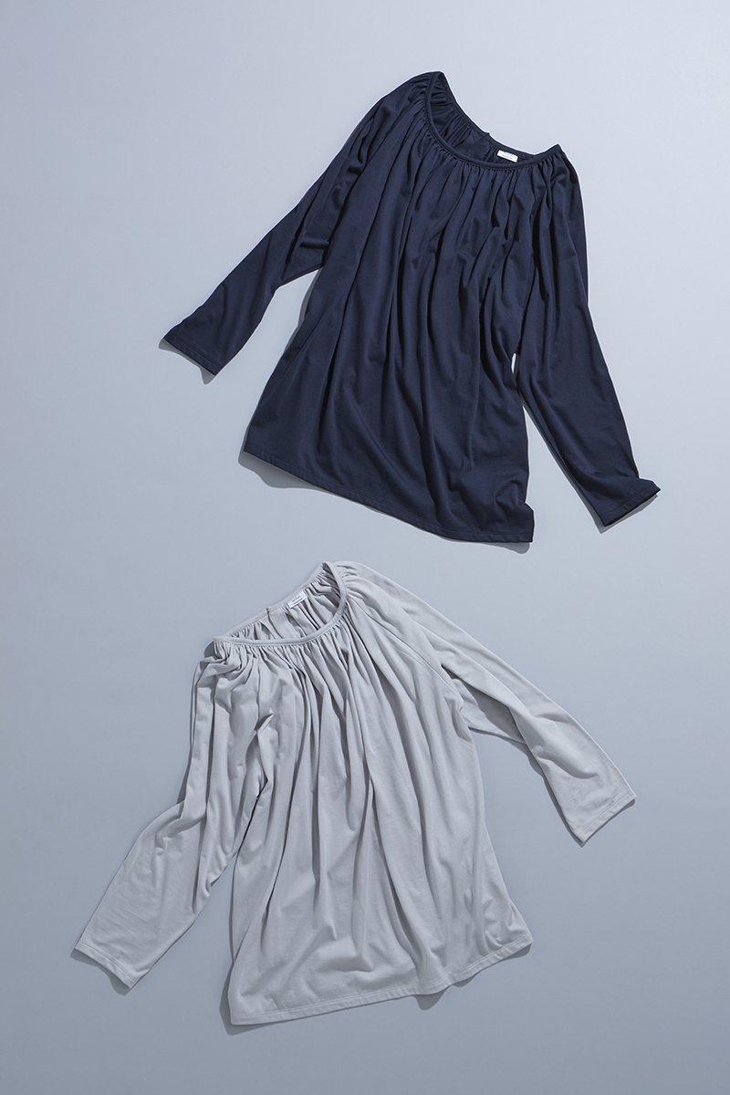 cotton gather cut&sewn