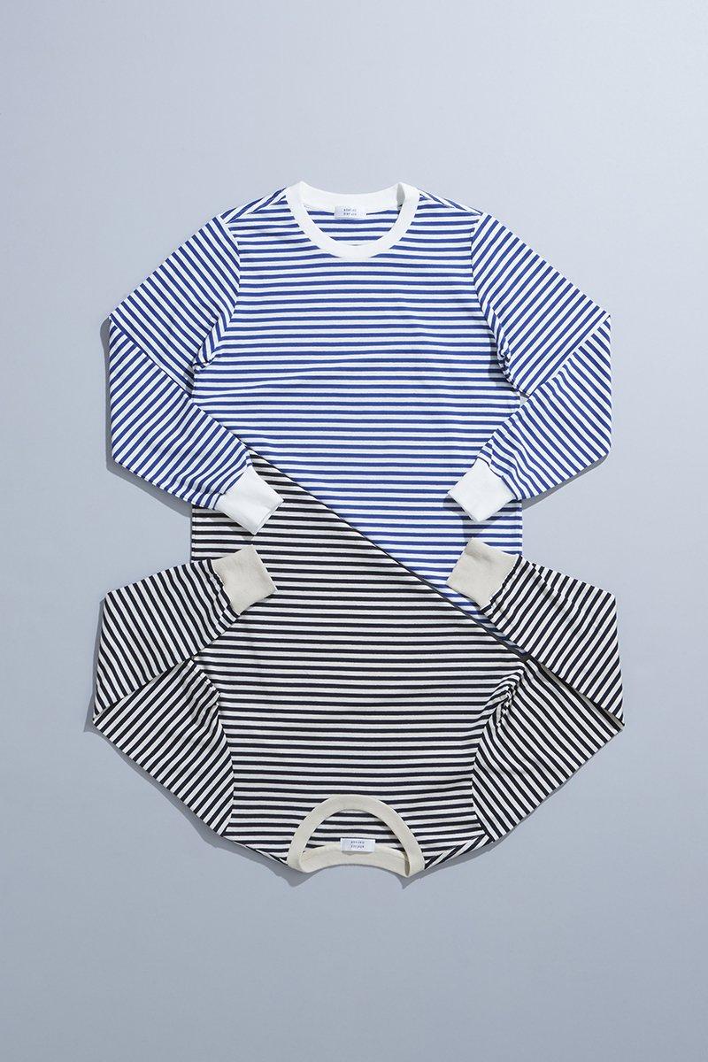 cotton border cut&sewn(長袖)
