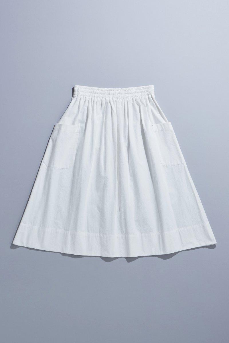cotton patch pocket skirt