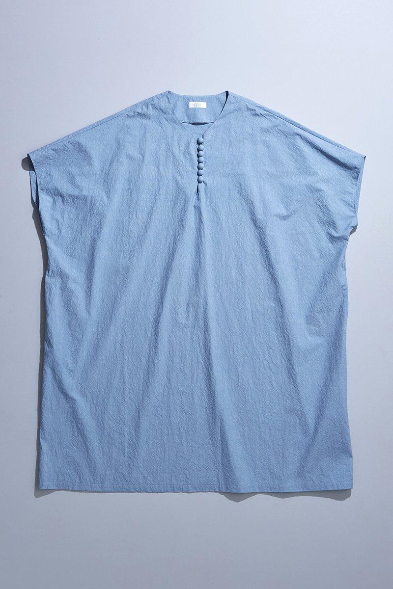 cotton TENT-LINE one-piece / sax