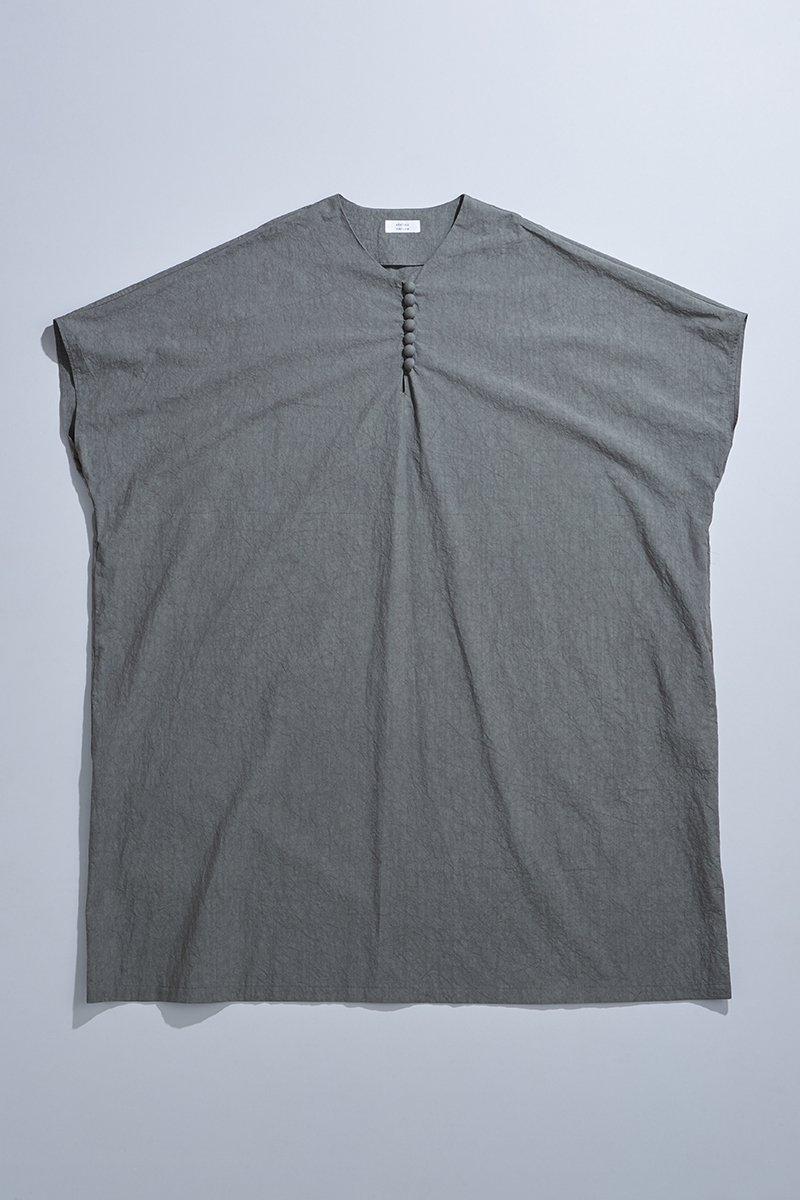 cotton TENT-LINE one-piece / charcoal