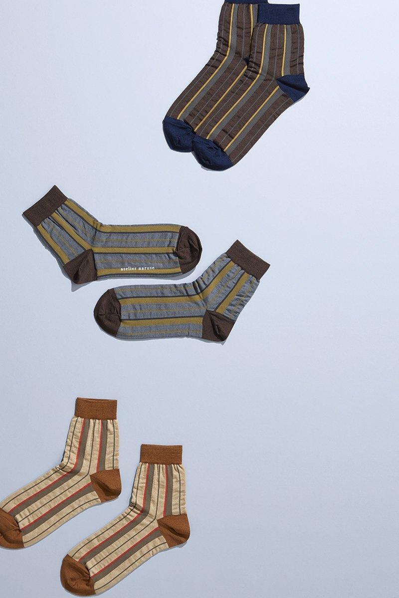 cotton ~mon oncle~ short middle socks