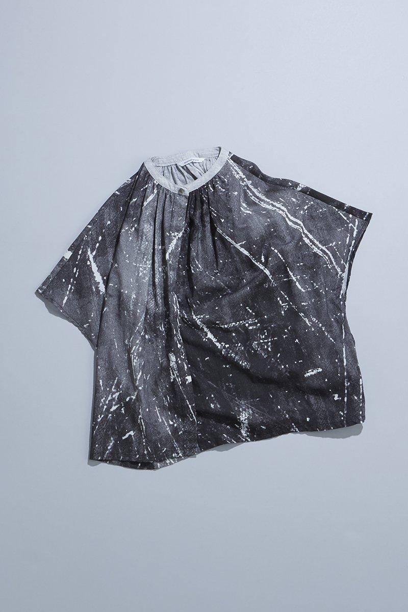 cotton linen ~kitchen~ smock blouse