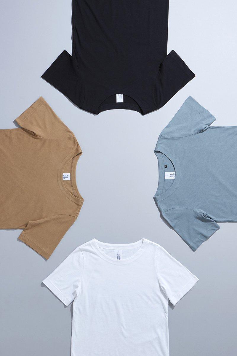 cotton circular rib fabric cut&sewn(半袖)