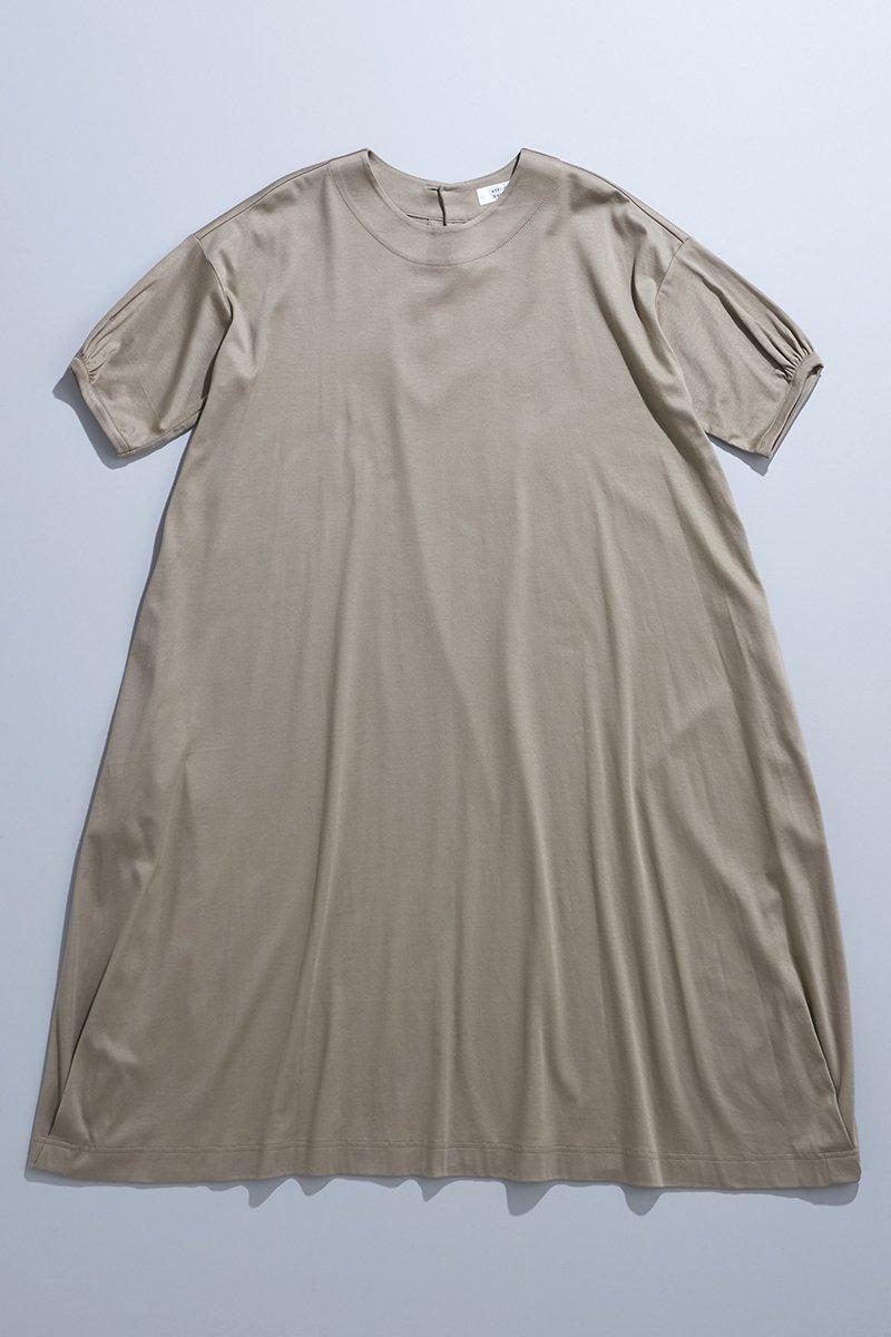 cotton c&s cocoon one-piece / beige