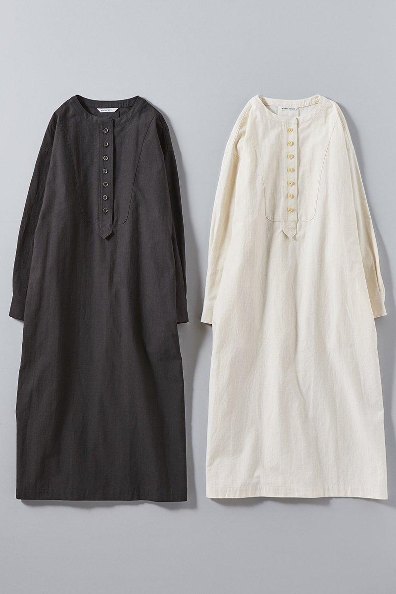 cotton-flax back satin long shirts