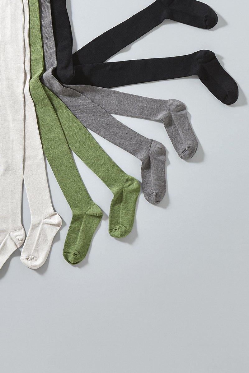cotton wool ~yuru-yuru~ rib tights