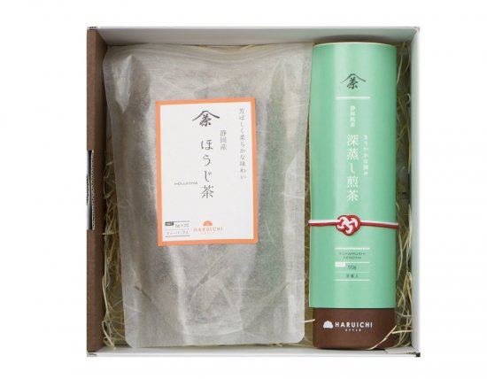 HARUICHIギフト 日本茶2本セット(筒+ほうじ茶ティーバッグ)<img class='new_mark_img2' src='//img.shop-pro.jp/img/new/icons25.gif' style='border:none;display:inline;margin:0px;padding:0px;width:auto;' />
