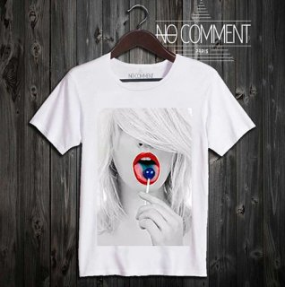 glamour-blue-lollipop ref | T-SHIRTS