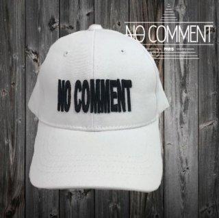 NOCOMMENT 立体刺繍ロゴワッペン/CAP