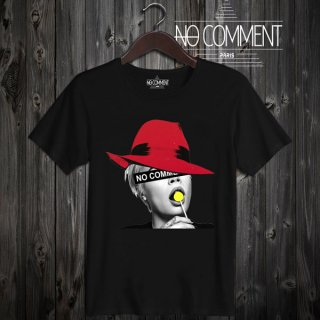 T-SHIRT M-CREW JP red hat