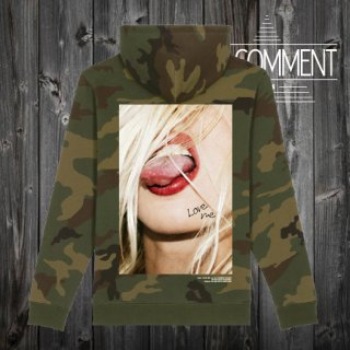 HOOD UNISEX CAMO JP color tongue