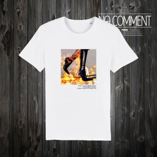 T-SHIRT M-CREW JP burning boots