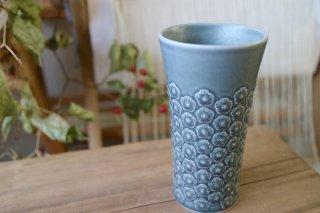 Azur(アズール)グリーン 花瓶  KRONJYDEN/クロニーデン