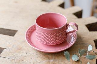 クイストゴー Cordial Palet(コーディアル パレット)ピンク カップ&ソーサー �