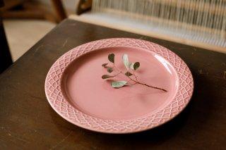 クイストゴー Cordial Palet(コーディアル パレット)ピンク 24cm ディナープレート�