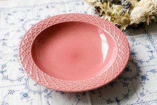 クイストゴー Cordial Palet(コーディアル パレット)ピンク 21cm 深皿�