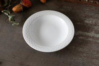 クイストゴー Cordial Palet(コーディアル パレット)ホワイト 21cm 深皿 no.1